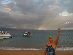 Maui Channel Swim 001